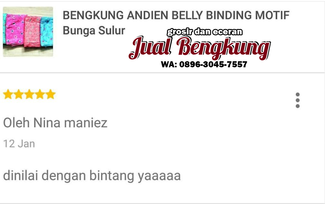supplier bengkung andien