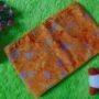 bengkung katun batik cap – bengkung belly binding – bengkung andien batik cap orange daun