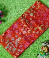 stagen – pelangsing perut – korset – bengkung katun – bengkung belly binding – bengkung andien batik cap danar hadi orange bolde