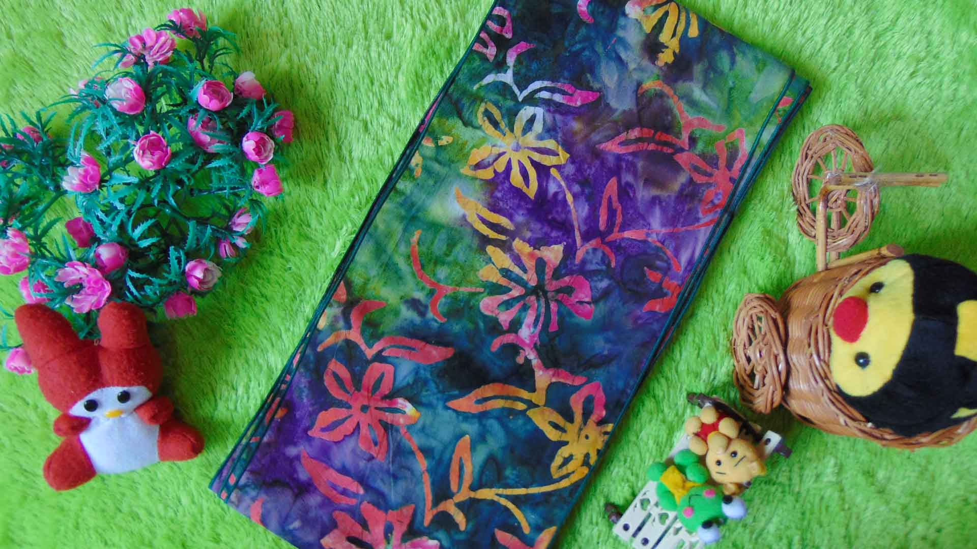 stagen – pelangsing perut – korset – bengkung katun – bengkung belly binding – bengkung andien batik cap danar hadi bunga senja