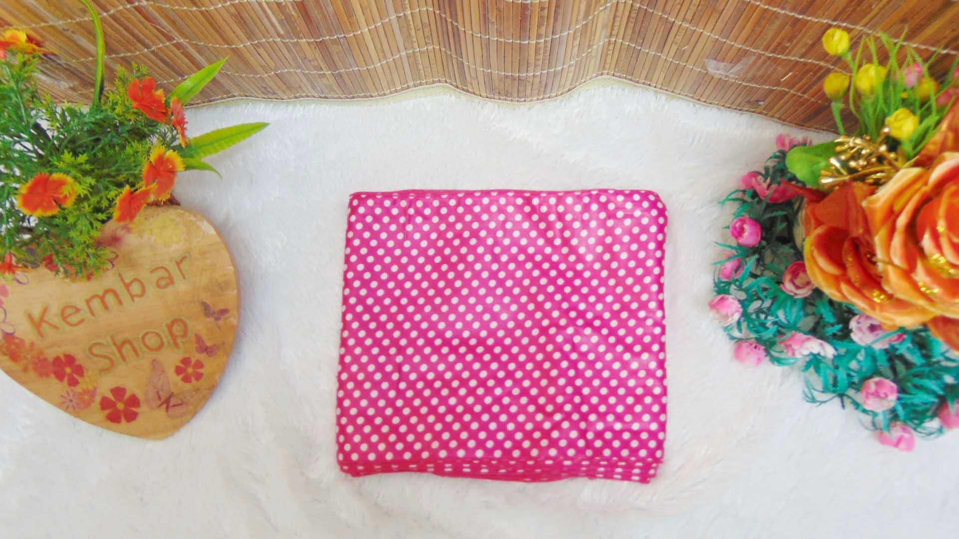 Bengkung modern 20meter bengkung santung bengkung belly binding bengkung andien motif polka ANEKA WARNA (5)