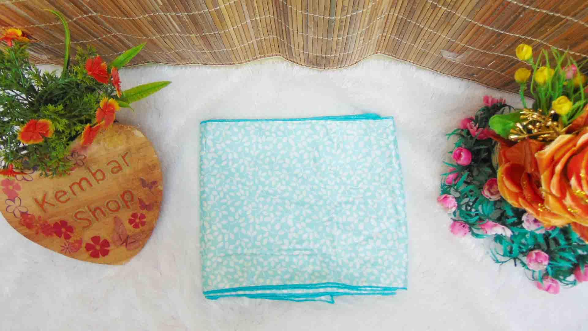Bengkung modern 8meter bengkung santung bengkung belly binding bengkung andien motif sakura ungu tosca (1)