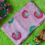 bengkung modern – bengkung santung – bengkung belly binding – bengkung andien motif bunga merak pink