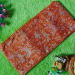 stagen – pelangsing perut – korset – bengkung katun – bengkung belly binding – bengkung andien batik cap danar hadi orange